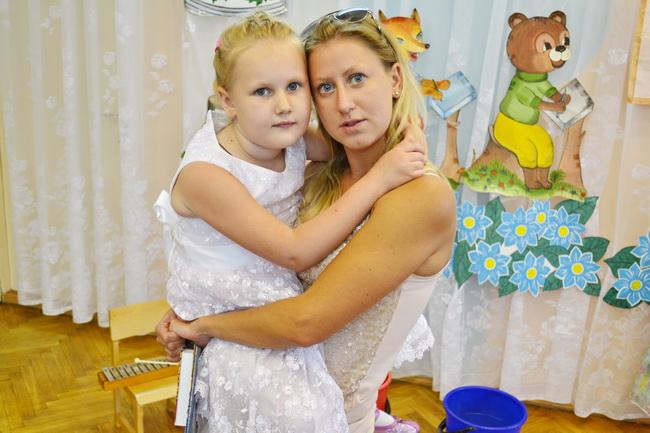 Супруга Евгения Садовского – Юлия и дочь Анна