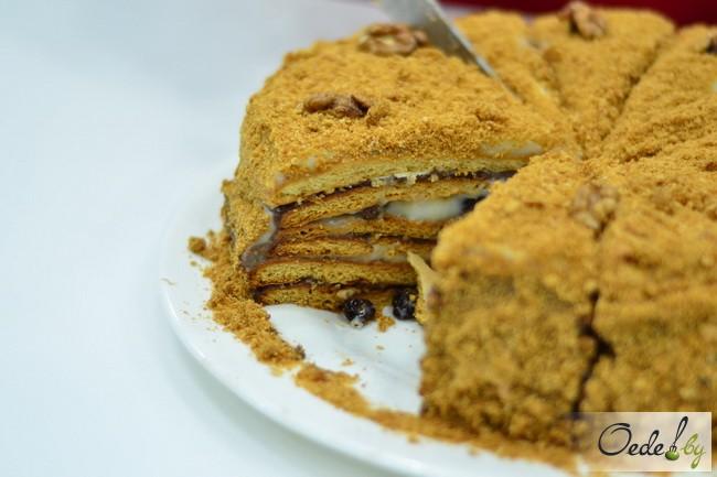 Медовый торт «Кутузов»