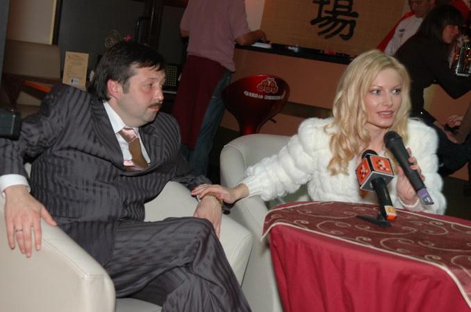 Ирина Видова и Олег Молчан