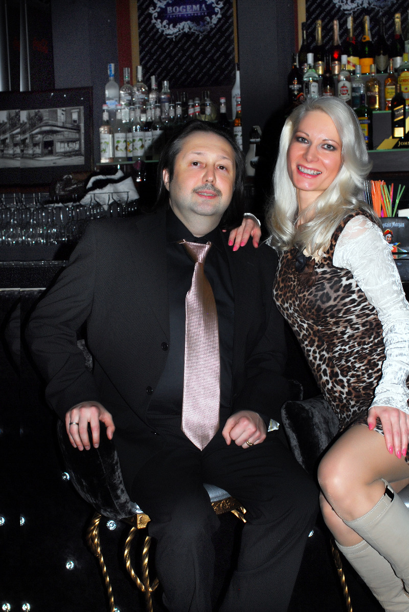 Ирина Видова с мужем