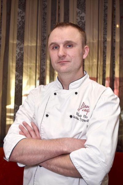Мон кафе шеф-повар Вадим Турновский