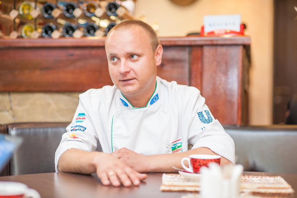 шеф-повар Олег Рудиченко