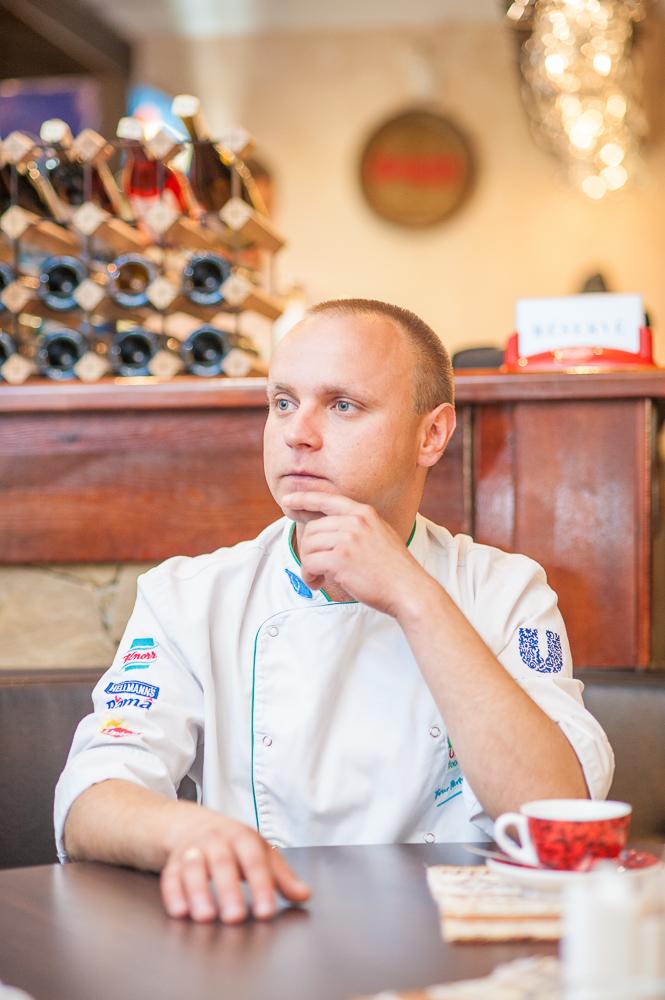 шеф-повар ресторана Эриван Олег Рудиченко