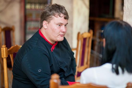 Павел Ольшевский - шеф-повар кафе Rider