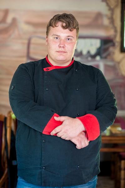 Павел Ольшевский, шеф-повар кафе Rider