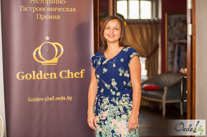 Инна Величко, управляющая Сетью кафе «Гараж»