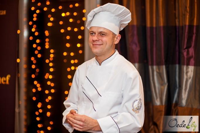 шеф-повар ресторана «Labrador» Вячеслав Федюк