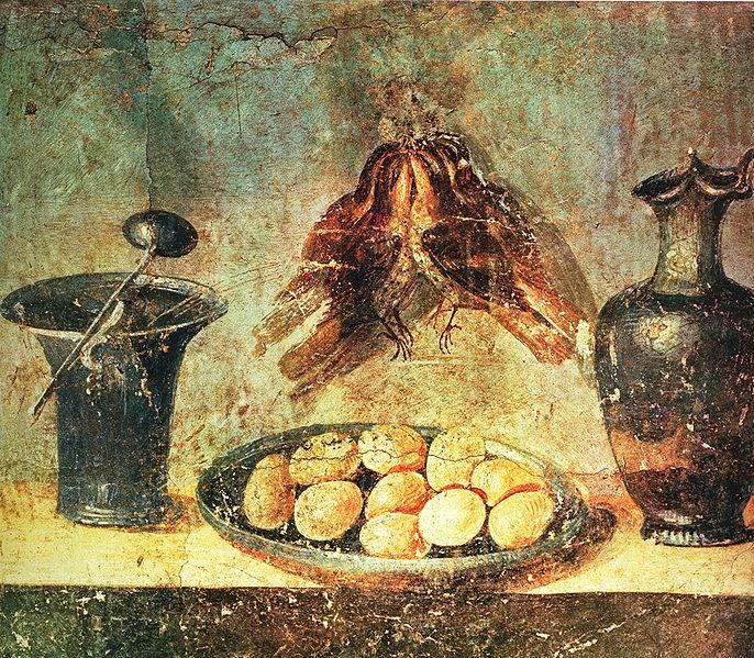какой пряной травой римляне украшали жилища