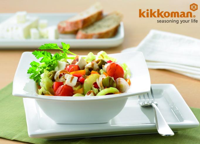салат греческий рецепт соус соевый соус