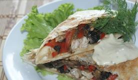 Горячий салат «Казацкие забавы»