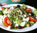 Зеленый салат с травами