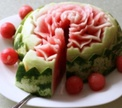 Мастер-класс по карвингу: арбузный торт