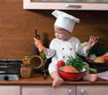 Маленькие поварята: готовим вместе с детьми.
