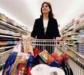 Продовольственные магазины подбираются к диванам минчан