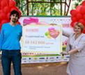Кухня Мастера передала детскому дому №7 чек на сумму более 18 миллионов рублей