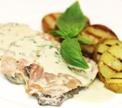 Сальтимбокка из телятины с картофелем-гриль от Антона Каленика