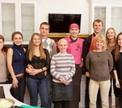 14 февраля в День всех влюбленных прошел мастер-класс по японской кухне с Евгением Садовским