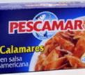 Кусочки Моллюсков (смесь кальмаров) в раст. масле Pescamar