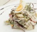 Овощной салат с говядиной от Александра Жилинского