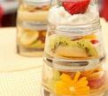 Фруктовый салат со взбитыми сливками от Дениса Светова