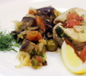 Рыбная буррида по-сардински с капонатой от Павла Голенкова