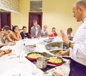 Мастер-класс по итальянской кухне с шеф-поваром Бистро Де Люкс Антоном Калеником