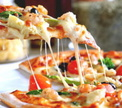 Чемпионат по скоростному поеданию пиццы!