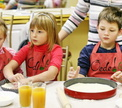 Детский мастер-класс Маленький пиццайола под руководством Раисы Савковой