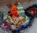 Праздничное имбирное печенье от Саши и Славы!
