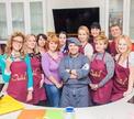 Павел Голенков и домашняя французская кухня в Кулинарной школе Oede
