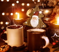 Новогодняя встреча с ароматом кофе