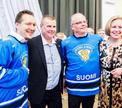 ЧМ по хоккею 2014: приветствие финской сборной