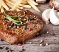 Самое мужское блюдо – стейк!