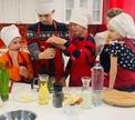 """В Кулинарной школе OEde стартовал мини-курс """"Маленький поваренок""""."""