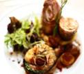 Ролл «Трио» с терриной из овощей и белыми грибами