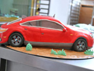 Мастер-класс  - а вы умеете готовить торт- BMW?