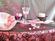 Сервировка стола: сдержанная нежность