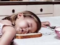 Ужин ребенка после детского садика