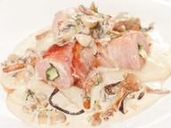 Свиная вырезка под грибным соусом от Евгения Садовского