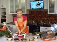 Что сегодня на ужин? Курица, салат и  десерт за 20 минут!
