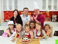 Детский День рождения в Первой кулинарной школе Oede