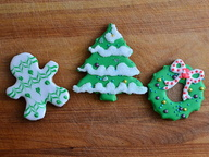 Фотоотчет: роспись рождественских пряников