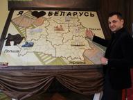 В Минске создана самая большая в мире картина из шоколада