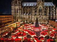 Рождественский рынок в Кёльне