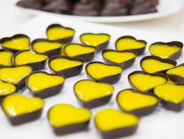 Фотоотчет: шоколадные конфеты от доцентов Итальянской академии шеф-поваров