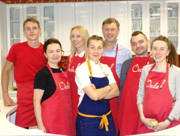 Фотоотчет с мастер-класса Ароматные пироги