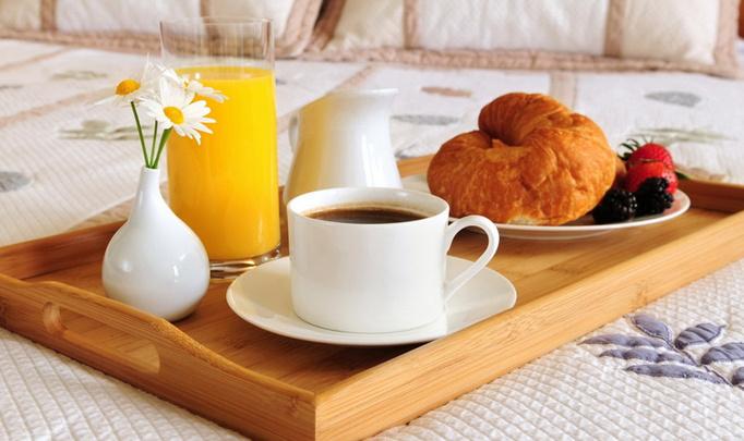 Романтический завтрак в Масленицу