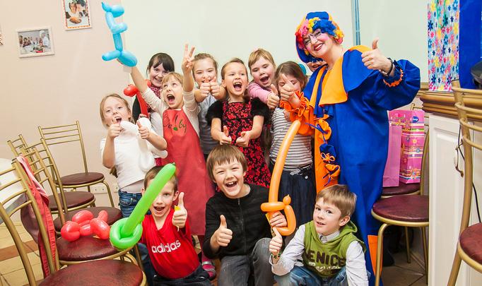 Праздничный мастер-класс для детей