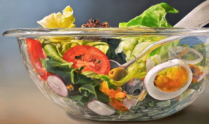Почему русские художники рисовали селедку вместо икры и лук вместо персиков?
