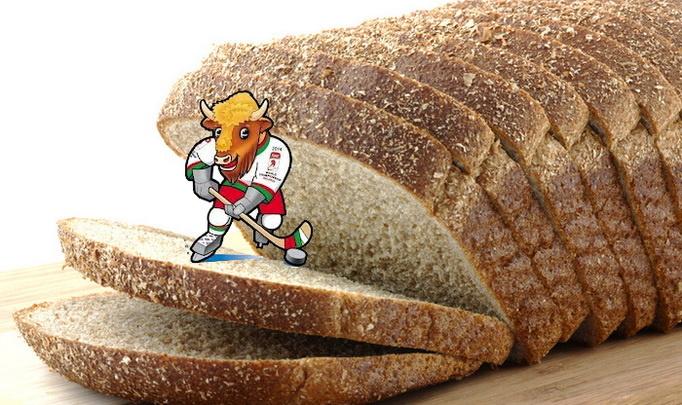 В Беларуси появится хлеб с символикой ЧМ по хоккею 2014